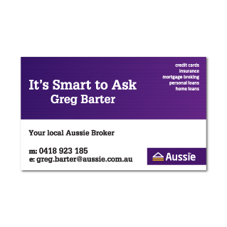 Business Card Fridge Magnet-53mm x 86mm