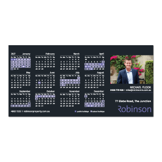 Calendar Fridge Magnet-97mm x 197mm